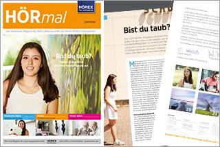 HÖRmal - HÖREX Kundenmagazin